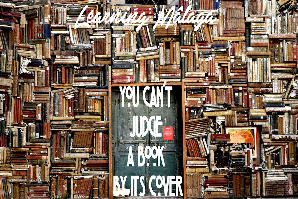 "Idiom of the week: ""You can't judge a book by its cover"""